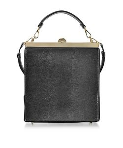 Rodo | Lizard Embossed Leather And Suede Tote Bag