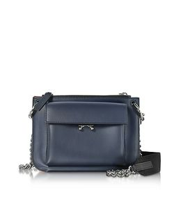 Marni | China And Hot Leather Pocket Bandoleer Bag