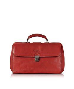 Robe di Firenze | Medium Genuine Italian Leather Doctor Bag