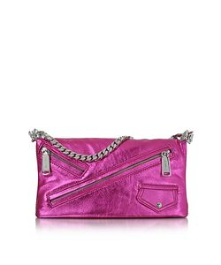 Dsquared2 | Babe Wire Laminated Nappa Leather Foldable Clutch