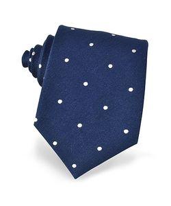 Forzieri | Polkadots Woven Silk Tie