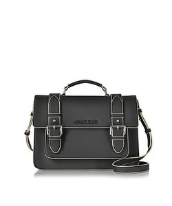ARMANI JEANS | Eco Leather Medium Crossbody Bag