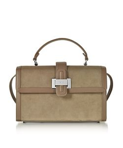 Rodo | Suede And Leather Lunch Bag