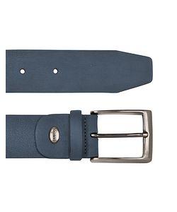 Manieri | Mens Blue Nubuk Belt