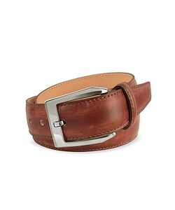 Pakerson   Mens Hand Painted Italian Leather Belt