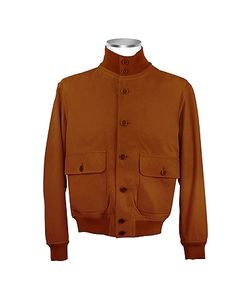 SCHIATTI & C | Итальянская Мужская Замшевая Куртка Шоколадно-Коричневого Цвета С Двумя Карманами