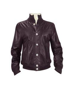 SCHIATTI & C | Мужская Двухсторонняя Куртка Из Кожи Наппа Синего И Белого Цветов
