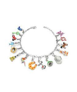 Tedora | Браслет Из Серебра 925 Пробы С Разноцветными Чармами