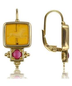 Tagliamonte | Classic Collection Серьги Из Золота 18 Карат С Рубинами
