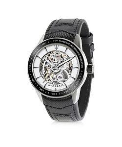 Maserati | Corsa Skeleton Черные Автоматические Мужские Часы Из Нержавеющей Стали