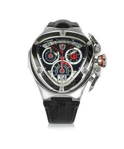 Tonino Lamborghini | Spyder Часы Хронограф Из Красной И Серебристой Нержавеющей Стали