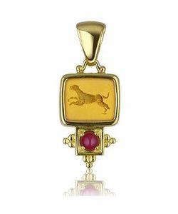 Tagliamonte | Classic Collection Подвеска Из Золота 18 Карат С Рубинами
