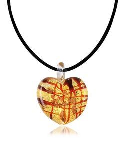 Antica Murrina | Passione Murano Glass Heart Pendant