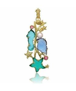 Tagliamonte | Marina Collection Tourmaline 18k Gold Pendant