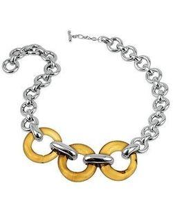 Masini | Round Murano Glass Sterling Silver Necklace