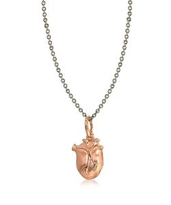 BJORG | Anatomic Heart Locket Ожерелье С Чармом
