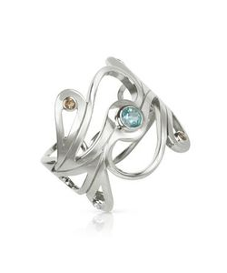 Sho London | Sterling Mari Splash Ring