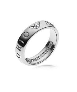 Emporio Armani | Женское Кольцо С Логотипом Орлом