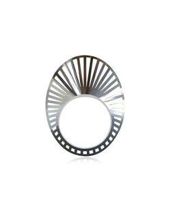 VOJD STUDIOS | Phase Овальное Кольцо Из Редкого Серебра 925 Пробы