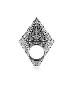 VOJD STUDIOS   Umbala Шестиугольное Кольцо Из Серебра 925 Пробы