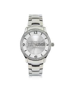 Just Cavalli | Huge Collection Часы Из Нержавеющей Стали С Серебристым Циферблатом