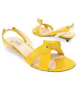 Amaltea | Cream Two-Tone Leather Sandal Shoes