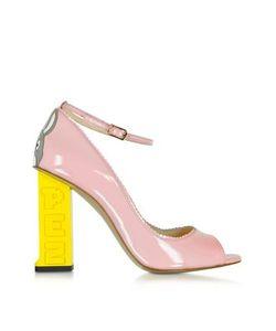 CAMILLA ELPHICK | Pez Classics Lapin Розовые Туфли-Лодочки Из Лакированной Кожи