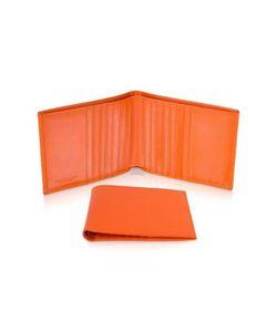 Giorgio Fedon | Classica Оранжевый Мужской Бумажник Для Кредитных Карт Из Кожи Теленка