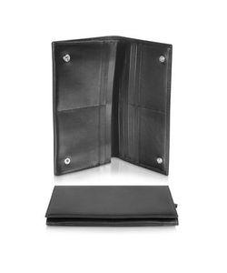 Giorgio Fedon | Classica Collection Черный Кошелек Из Кожи Теленка