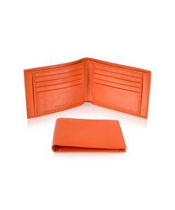 Giorgio Fedon | Classica Мужское Оранжевое Портмоне Из Кожи Теленка