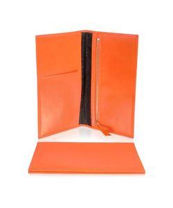 Giorgio Fedon | Classica Collection Оранжевая Папка Для Проездных Документов Из Кожи Теленка