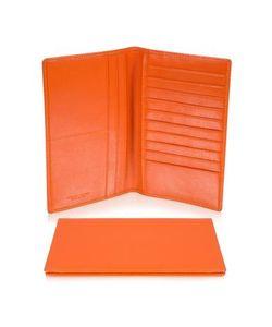 Giorgio Fedon | Classica Collection Оранжевый Вертикальный Бумажник Из Кожи Теленка