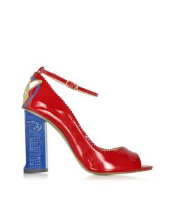 CAMILLA ELPHICK | Pez Classics Princess Красные Туфли-Лодочки Из Лакированной Кожи