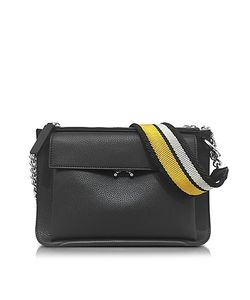 Marni | Leather Large Pocket Bandoleer Bag