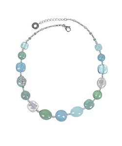 Antica Murrina | Florinda Light And Murano Glass Beads Necklace