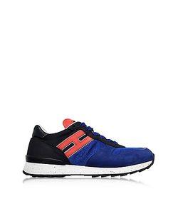 Hogan | Running R261 Nylon And Nubuck Sneakers