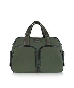 BRIC'S | Pininfarina Large Nylon And Leather Briefcase