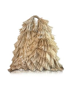 MM6 Maison Martin Margiela | Natural Synthetic Raffia Japanese Tote