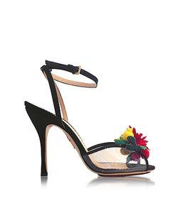 Charlotte Olympia | Tropicana Silk And Pvc Sandal