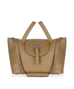 meli melo | Light Leather Thela Medium Tote Bag