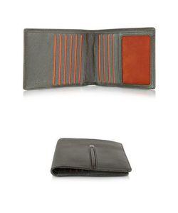 Giorgio Fedon | Web Collection Маленький Темно-Коричневый Мужской Бумажник