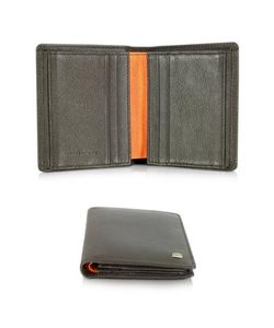 Giorgio Fedon | Spicy Collection Dark Brown Grained Leather Small Mens Wallet