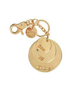 See by Chlo | Sbc Medallion Круглый Брелок Для Ключей
