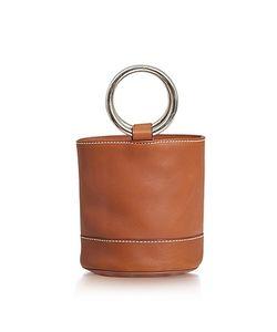 SIMON MILLER | S801 Dark Calf Leather Bonsai Bag
