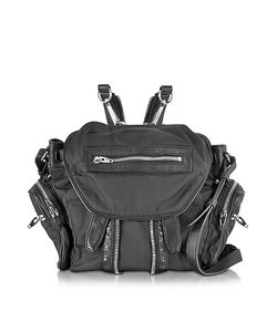 Alexander Wang | Mini Marti Черный Рюкзак Из Кожи И Нейлона