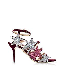Charlotte Olympia | Twinkle Toes Разноцветные Сандалии С Блестками