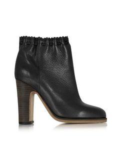 See by Chlo | Jane Черные Кожаные Ботинки