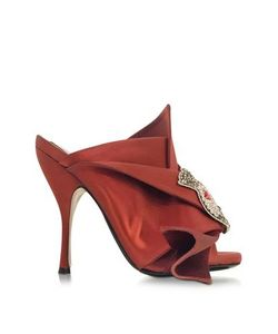 N 21 | Satin Wrap High Heel Sandal