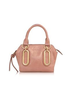 See by Chlo | Paige Glazed Leather Mini Crossbody Bag