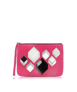 Pierre Hardy   Cube Suede Pouch